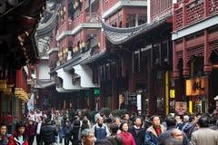 Bazar di Yuyuan a Schang-Hai fotografia stock libera da diritti