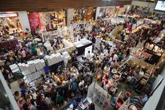 Bazar do Natal Fotos de Stock Royalty Free