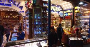 Bazar egipcio almacen de metraje de vídeo
