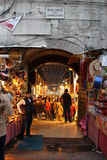 Bazar egipcio de la especia en Estambul, Turquía Imagenes de archivo