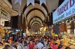 Bazar egiziano Immagini Stock Libere da Diritti