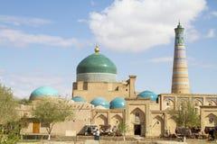 Bazar en las paredes del conjunto arquitectónico de Islam Khoja fotografía de archivo libre de regalías
