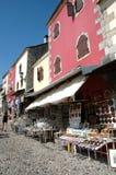 Bazar en Mostar, Bosnia y Herzegovina fotos de archivo