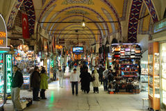 Bazar grand à Istanbul Photo stock