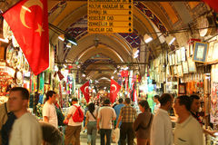 Bazar grand d'Istanbul Images stock