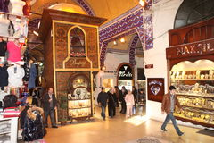 Bazar grand Istanbul Images stock