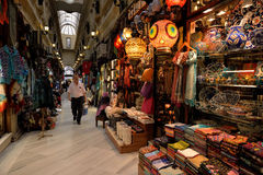 Bazar grand, Istanbul, Turquie Photos libres de droits