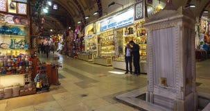 Bazar grande em Istambul video estoque