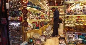 Bazar grande em Istambul vídeos de arquivo