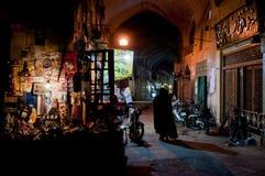 Bazar i Esfahan Arkivfoto