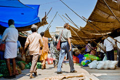 Bazar indien Photos stock