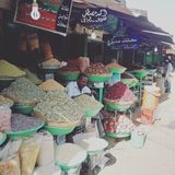 Bazar/khartoum Fotografia de Stock Royalty Free