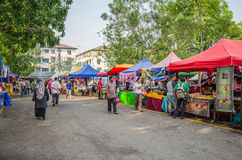 Bazar Kuala Lumpur de Ramadan photos libres de droits