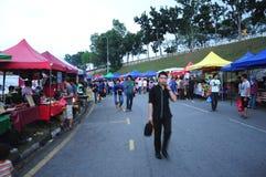 Bazar Kuala Lumpur di Ramadan immagini stock libere da diritti