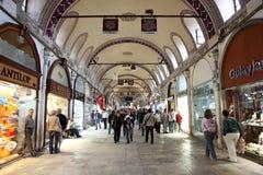 Bazar magnífico de Estambul, Turquía Fotos de archivo libres de regalías