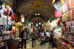 Bazar magnífico de Estambul, Turquía Fotografía de archivo