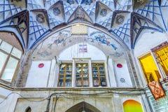 Bazar magnífico 06 de Kashan fotos de archivo