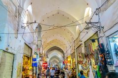 Bazar magnífico 08 de Kashan fotos de archivo libres de regalías