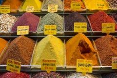 Bazar magnífico en Estambul Fotos de archivo