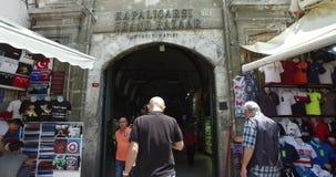 Bazar magnífico en Estambul almacen de metraje de vídeo