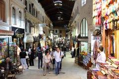 Bazar magnífico en Estambul, Turquía Imagen de archivo