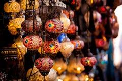 Bazar magnífico en Estambul, Turquía Foto de archivo libre de regalías