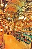 Bazar magnífico Estambul imagen de archivo
