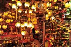 Bazar magnífico, Estambul Foto de archivo libre de regalías