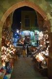 Bazar oriental de Khan El-Khalili fotografia de stock royalty free