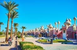 Bazar oriental de Sharm el Sheikh, Egypte Images libres de droits