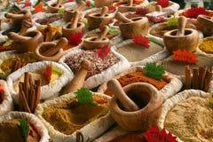 Bazar picante Imagen de archivo libre de regalías