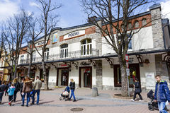 Bazar Polski historic building at Krupowki Royalty Free Stock Photography