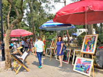 Bazar Sabado à Mexico Photographie stock libre de droits