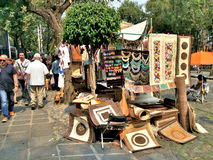 Bazar Sabado à Mexico Photos stock
