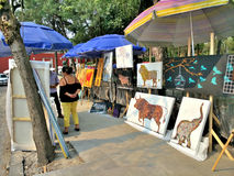 Bazar Sabado à Mexico Photo libre de droits