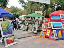 Bazar Sabado à Mexico Photographie stock