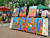Bazar Sabado in Città del Messico Immagini Stock