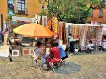 Bazar Sabado in Città del Messico Fotografie Stock