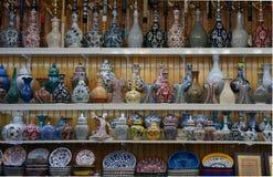 Bazar turc de mamie Photos stock