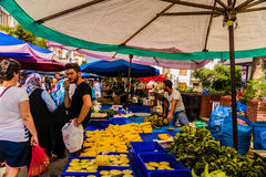 Bazar turc traditionnel Images stock