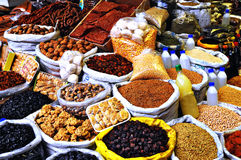 Bazar turco Imágenes de archivo libres de regalías
