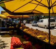 Bazar turco del distretto Immagini Stock