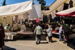 Bazar turco del distretto Fotografia Stock