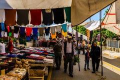 Bazar turco del distretto Immagine Stock
