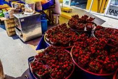 Bazar turco del distretto Fotografie Stock