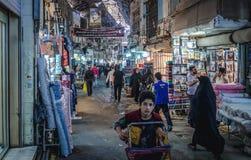 Bazar w Teheran obraz royalty free