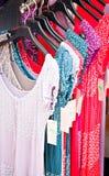 bazaru kolorowa smokingowa mody kobieta Obrazy Stock