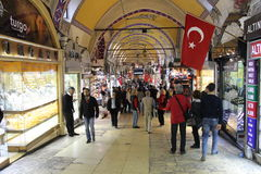 bazaru uroczyści Istanbul sklepy Obrazy Royalty Free