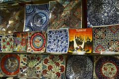 bazaru uroczysty Istanbul indyk Zdjęcia Stock