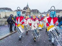 2017 Bazel Carnaval Stock Afbeelding